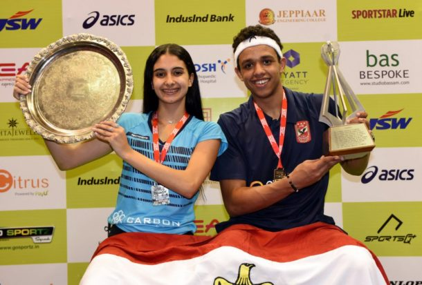 Egypt's Mostafa Assal and Rowan Elaraby crowned World Junior Champions