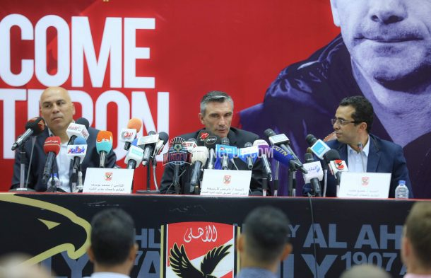 Patrice Carteron 'very happy' after winning start to Al Ahly career