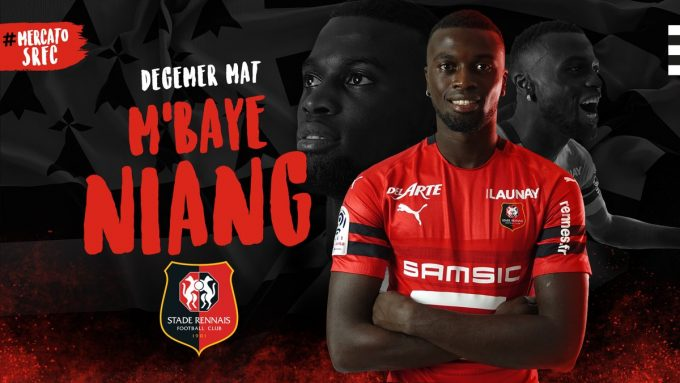 Senegal forward M'Baye Niang joins Stade Rennais on loan