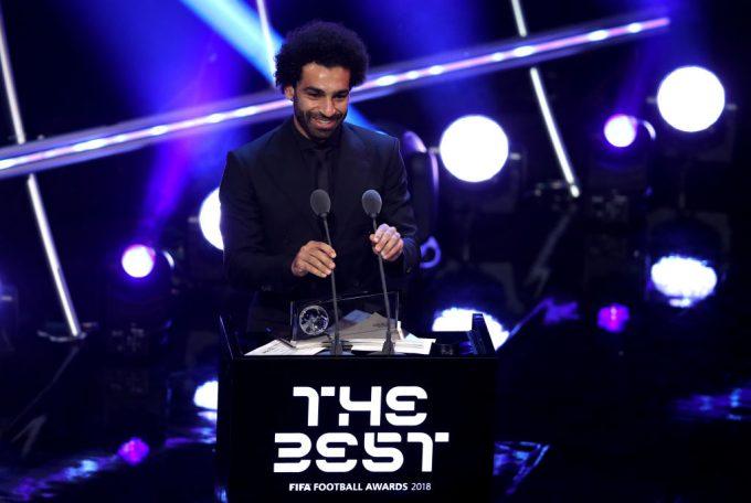 Egypt's Mohamed Salah wins FIFA Puskas award