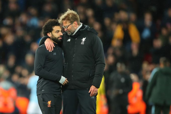 Jurgen Klopp defends Mohamed Salah after poor run of form