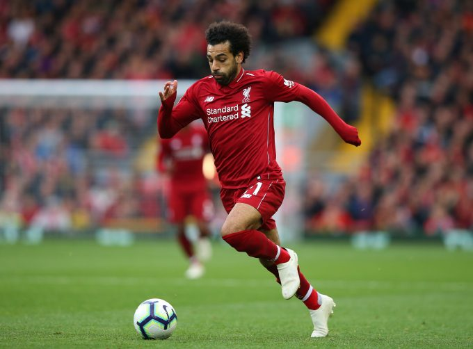 Mohamed Salah Speed
