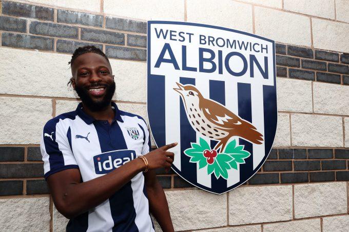 West Bromwich Albion Bakary Sako