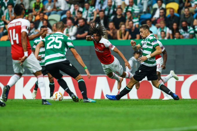 Mohamed Elneny ruled out for two weeks with thigh injury