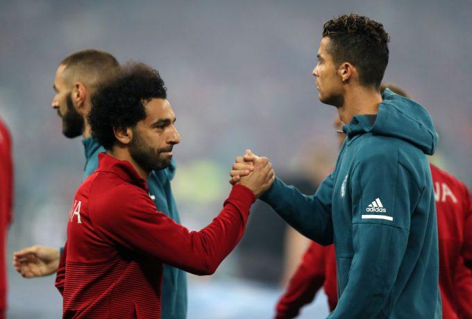 Cristiano Ronaldo names Salah among favourites to win Ballon d'Or