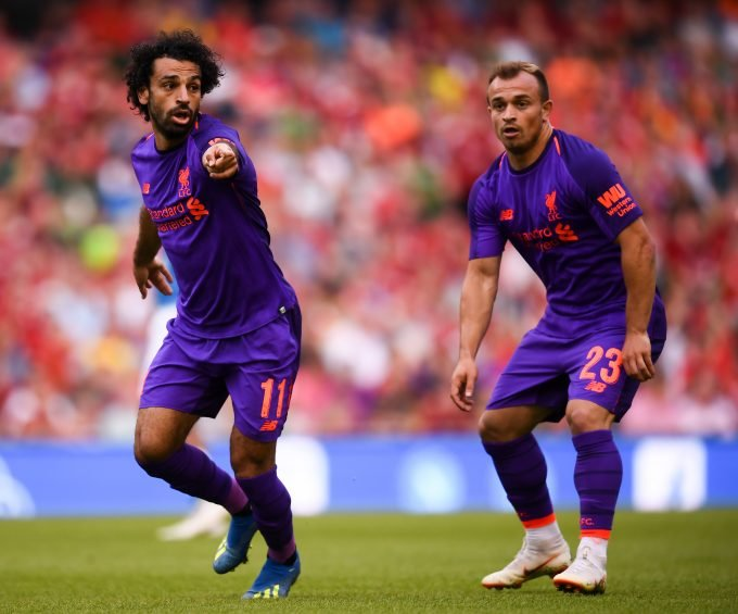 Mohamed Salah and Xherdan Shaqiri