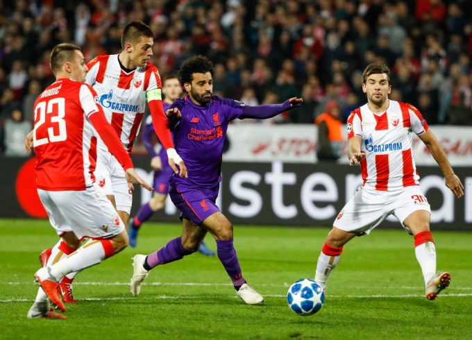 Mohamed Salah's Liverpool suffer surprise UCL defeat to Red Star