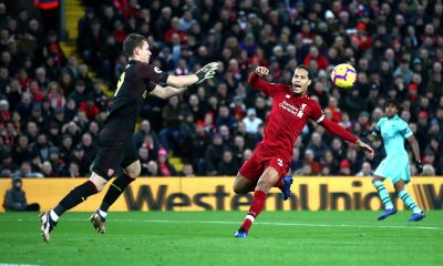 Virgil van Dijk Salah