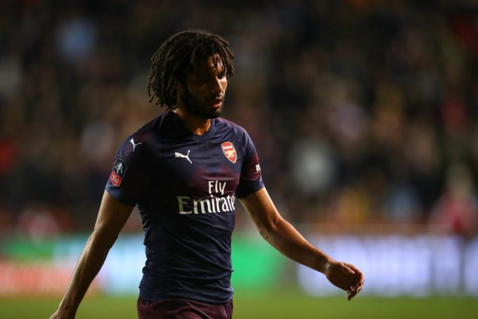 Mohamed Elneny features as Arsenal cruise past Blackpool