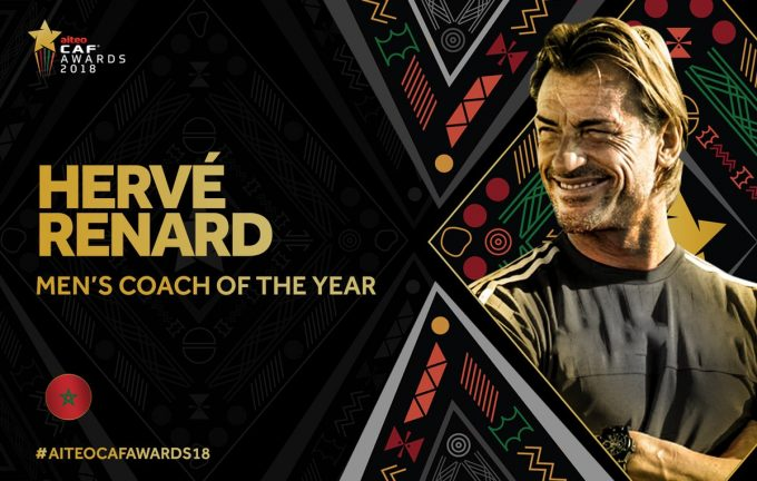 CAF award winners in full: Renard, Hakimi, Kgatlana scoop awards