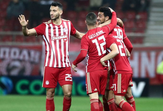 VIDEO: Kouka scores in Olympiacos' 3-1 cup victory over Xanthi FC