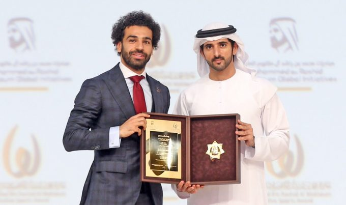 Egypt's Mohamed Salah wins Outstanding Arab Athlete award