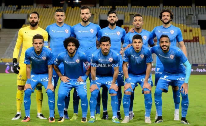 Zamalek name squad for NA Hussein Dey Confederation Cup clash