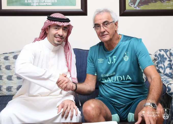 Abdel-Shafy's Al Ahli appoint Jorge Fossati as new manager