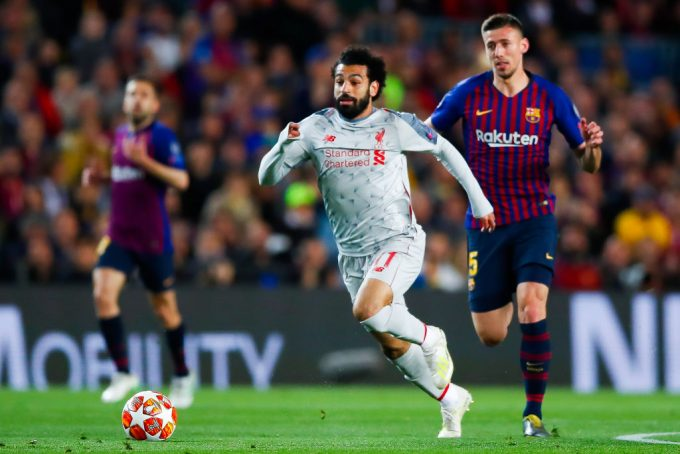 Mohamed Salah among top 12 fastest players in Premier League