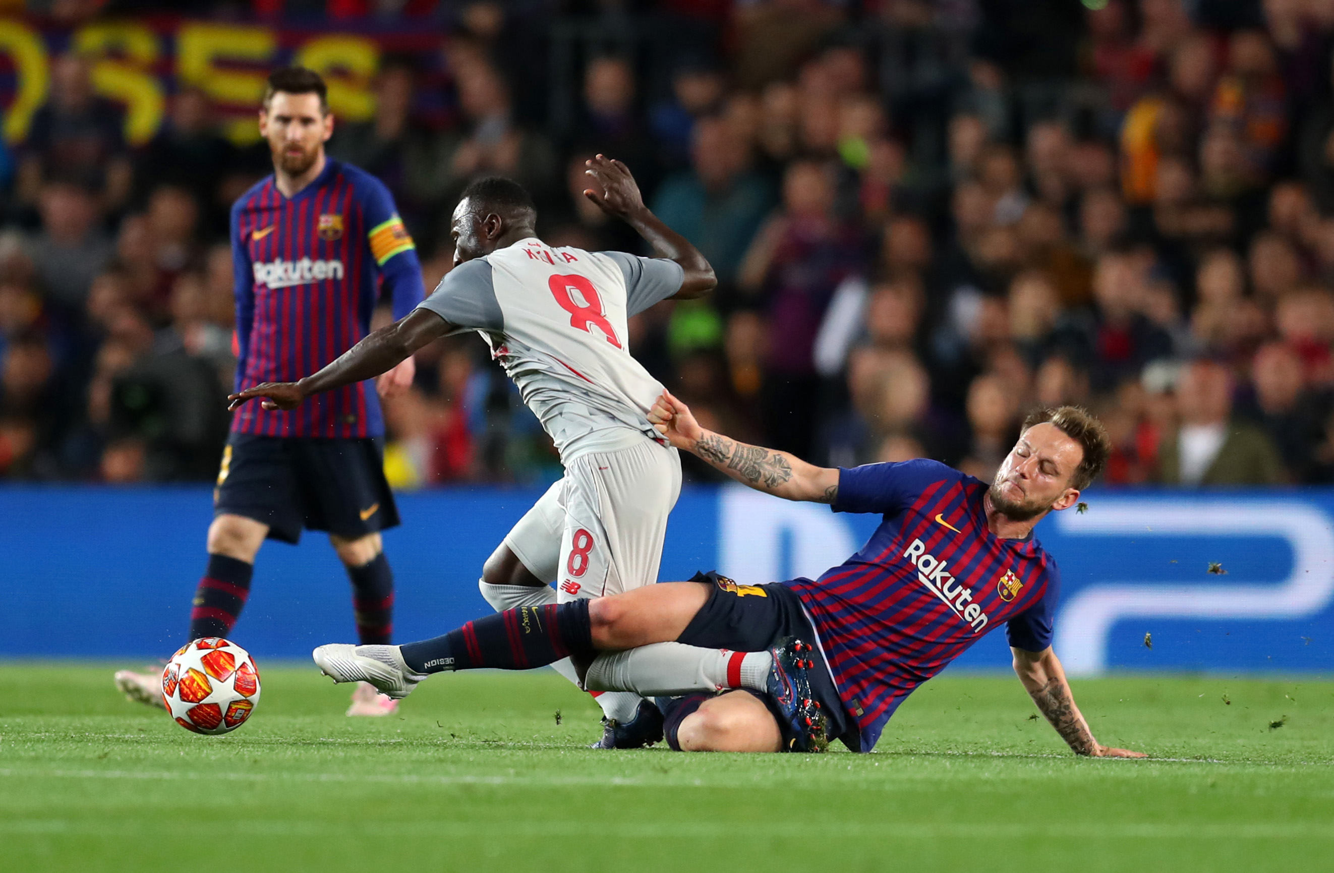 Liverpool's injured Naby Keita named in Guinea's provisional squad