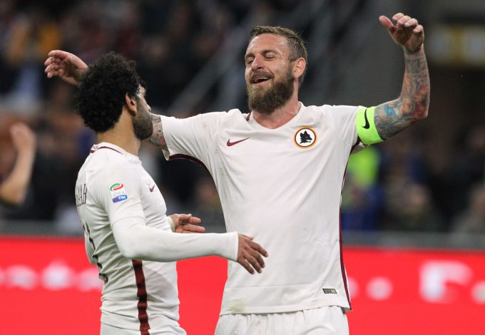 Mohamed Salah Eyes 'Beautiful' Reunion With Roma Legend Daniele De Rossi