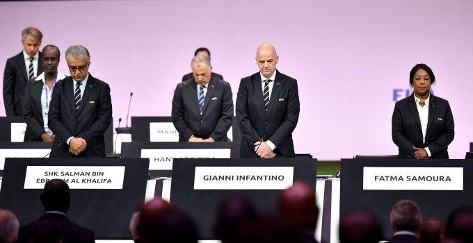 Gianni Infantino re-elected unopposed as FIFA President