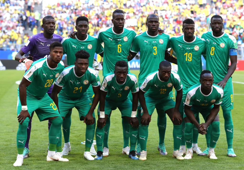 Image result for senegal training koulibaly afcon 2019