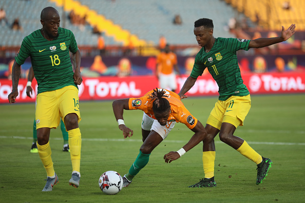 Late Lorch goal stuns Salah and Africa Cup of Nations hosts Egypt