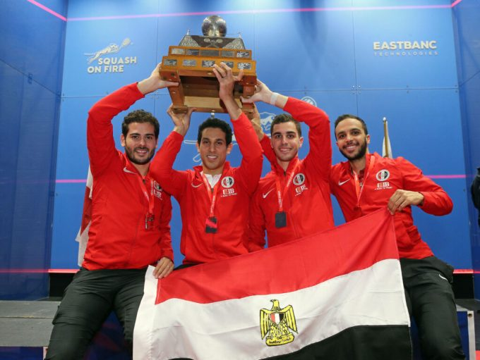 SQUASH: Egypt crowned world champions for fifth time