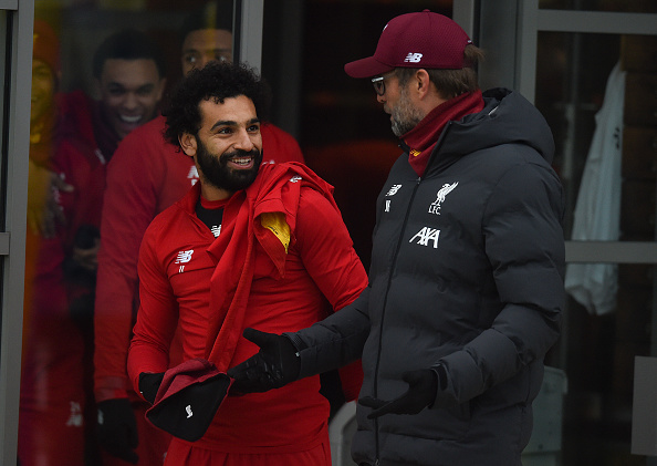 In 5 hours Liverpool star Salah annoyed with Monterrey officiating