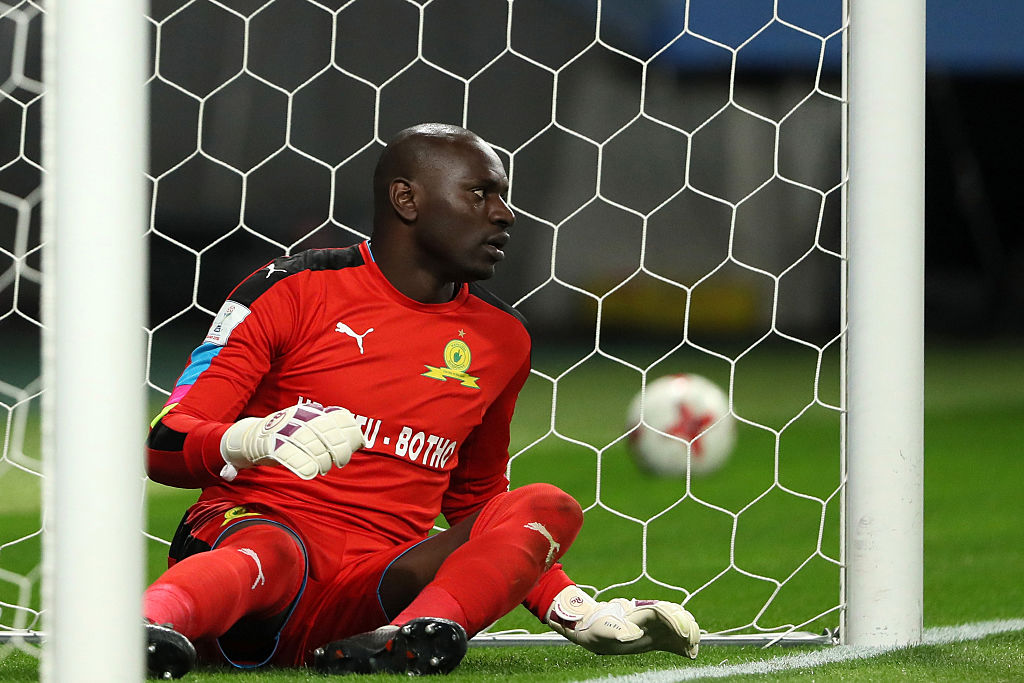 Sundowns goalkeeper Denis Onyango suffers injury ahead of Al Ahly clash - KingFut