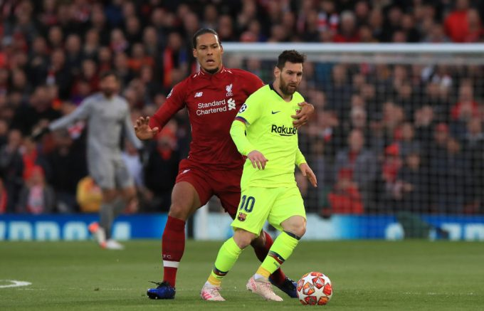 Lionel Messi: Mohamed Salah has been awesome for Liverpool