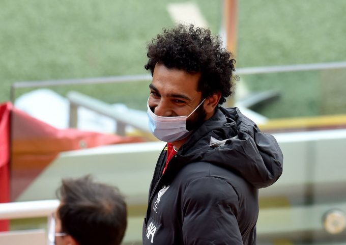 Jurgen Klopp provides fitness update on Salah ahead of Everton clash