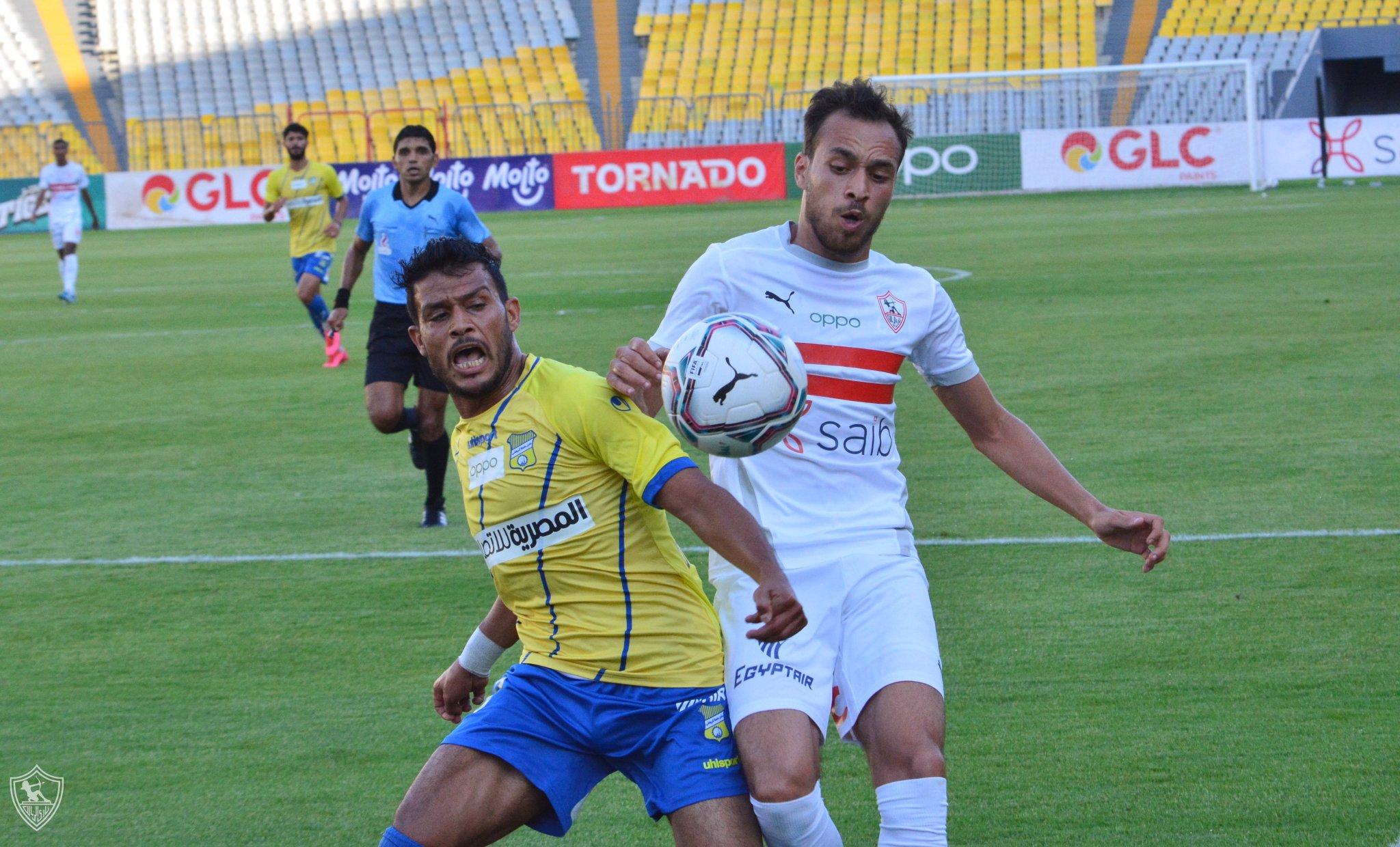 Video Zamalek Narrowly Beat Tanta In Friendly