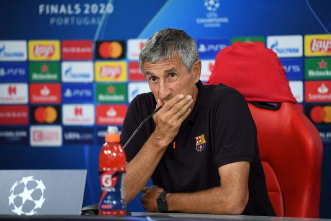 Quique Setién agreed to coach Egyptian minnows before FC Barcelona