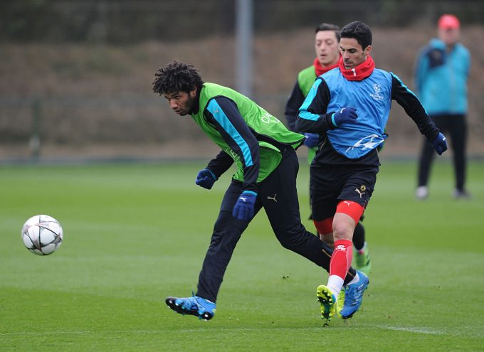 Arteta heaps praise on forgotten Arsenal midfielder