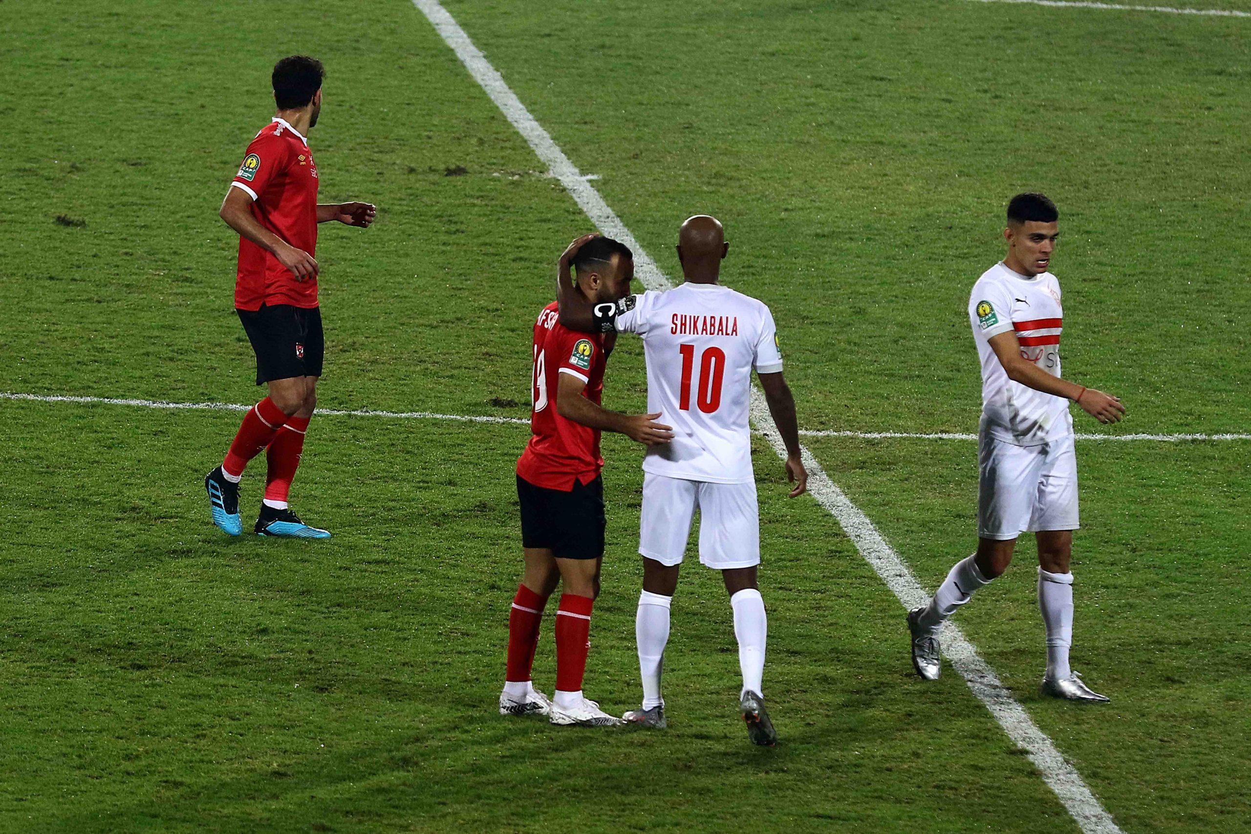 Al Ahly fans arrested over alleged racist gesture at Zamalek's Shikabala - KingFut