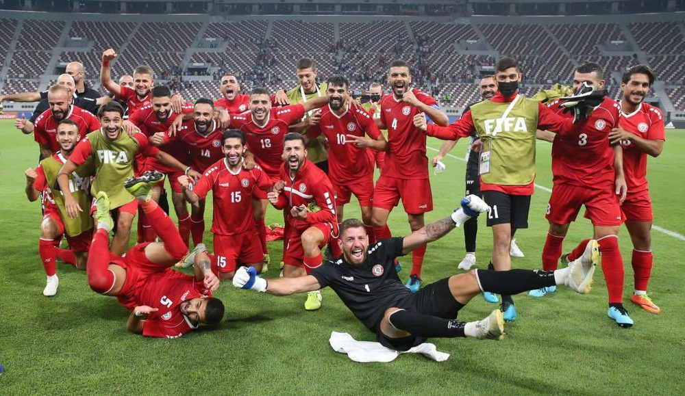 Lebanon full Egypt group in 2021 FIFA Arab Cup