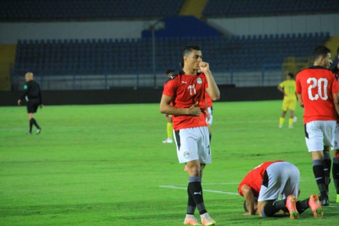 Mostafa Mohamed double earns Egypt U23 victory over South Africa